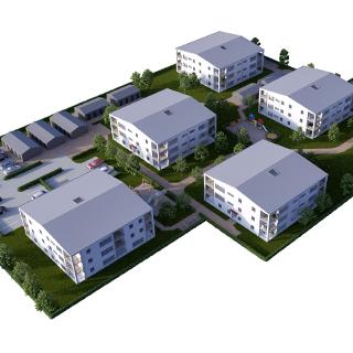 90 lägenheter i Åhus