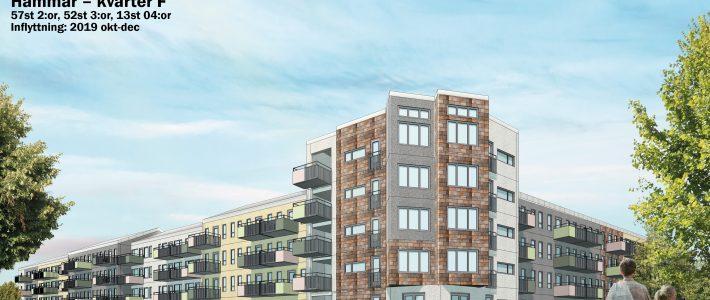 99 lägenheter i Kristianstad