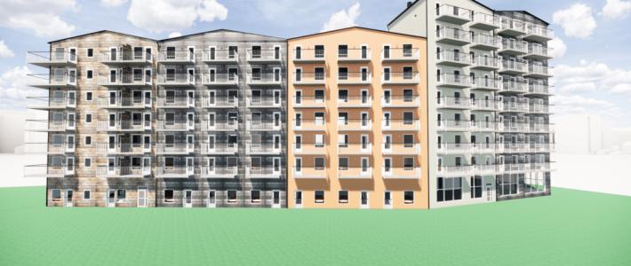 103 lägenheter i Göteborg