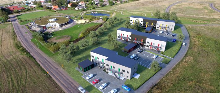 32 lägenheter i Östra Karup